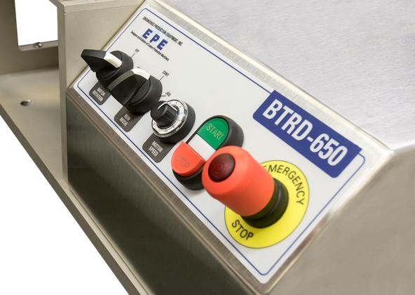 BTRD-650:  Operator-Panel